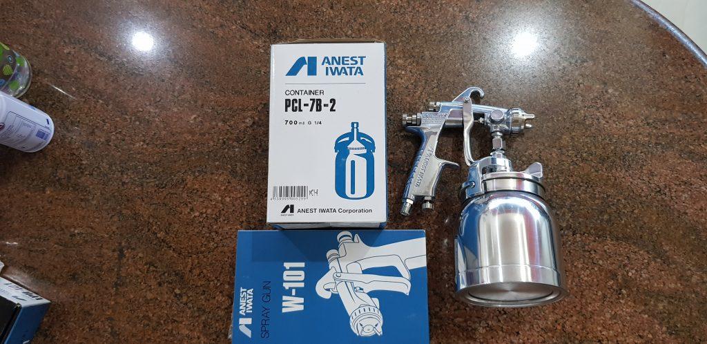 Jual Spray Gun Anest Iwata Di Pringsewu: Info Harga jual Spray Gun